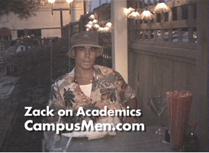 Zack Discusses The Importance of Academics