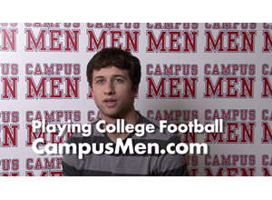 Shane Describes What is it Like to Play College Football