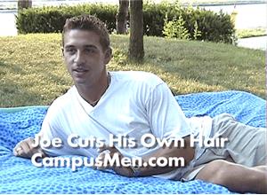 Joe Describes Cutting His Own Hair