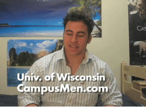 Aaron Describes Being a Student at University Of Wisconsin At Stout