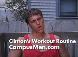 Clinton's Workout Routine